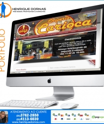 thumbs choperia carioca Sites Desenvolvidos