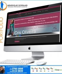 thumbs cris oliveira Sites Desenvolvidos