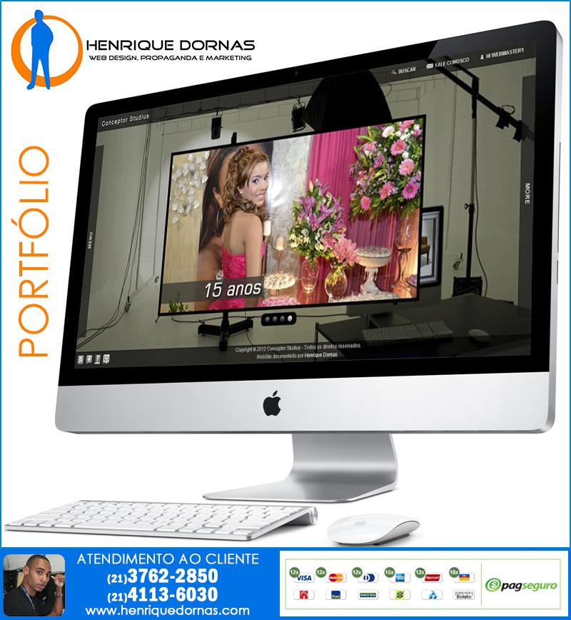 conceptor studios Criação de Site Tomas Coelho