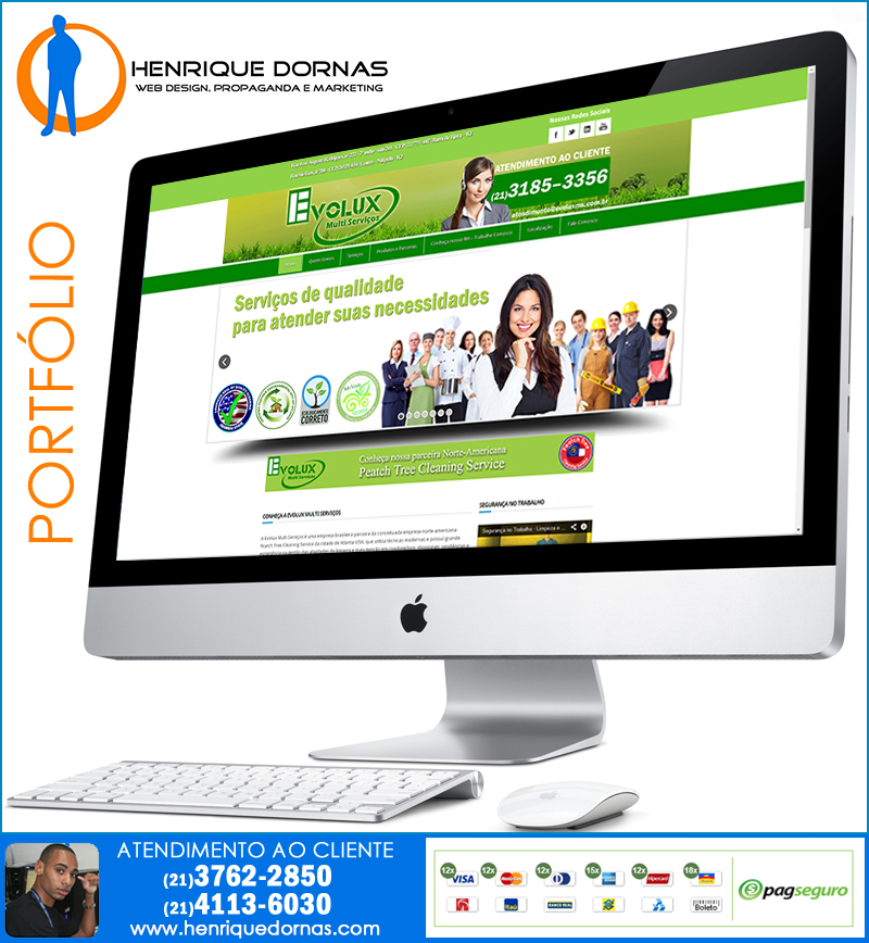 evolux ms Criação de Sites Oswaldo Cruz