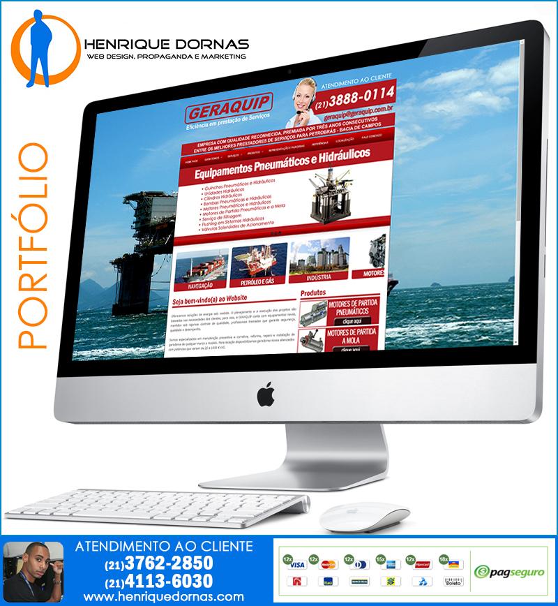 geraquip Criação de Home Page   Sites com 1 Página
