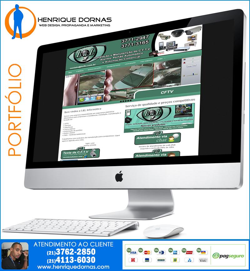 llcftv Criação de Site Curicica