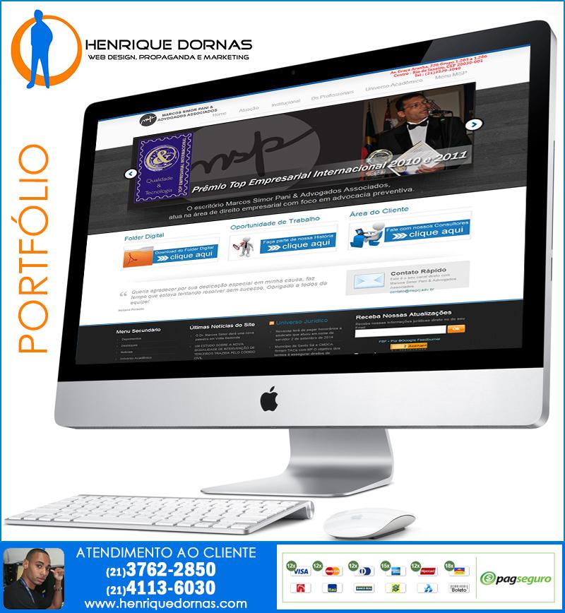 marcos simor pani Criação de Site Tomas Coelho