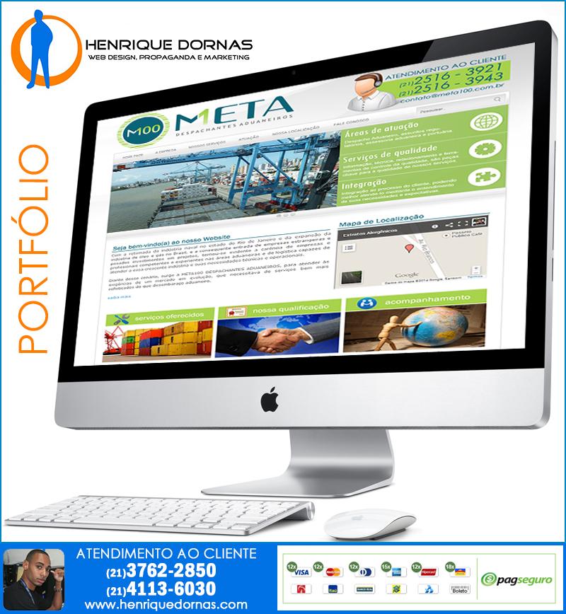 meta100 Criação de Sites em Cordovil