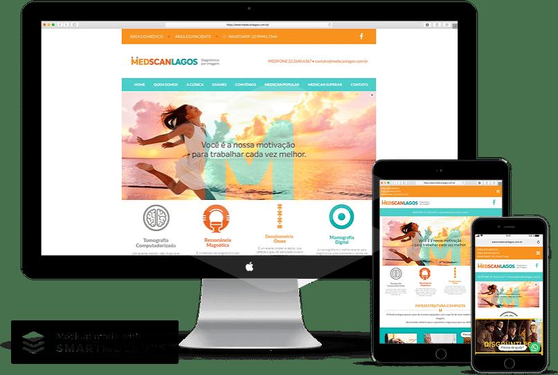 criação de sites para clinica de imagem