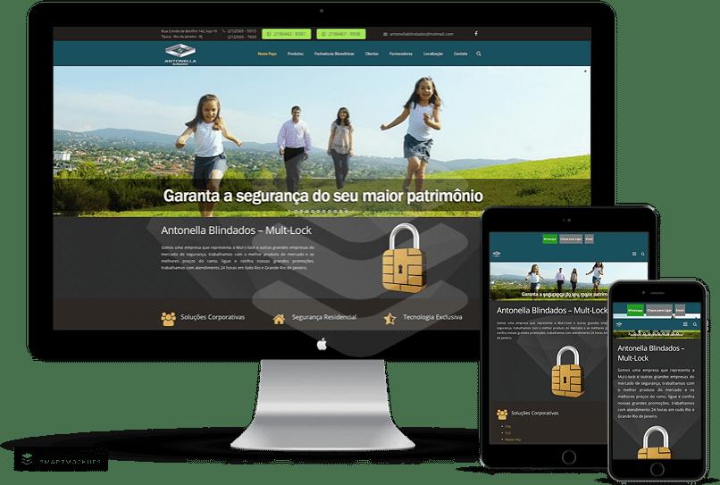 criação de sites para empresa de cofres