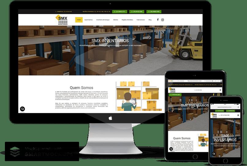 criação de sites para inventários