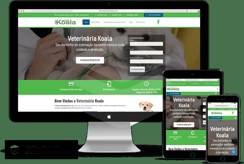 criação de sites para veterinária