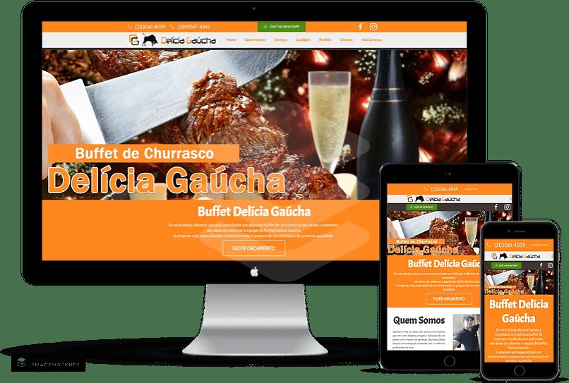 criação de sites para festas e eventos