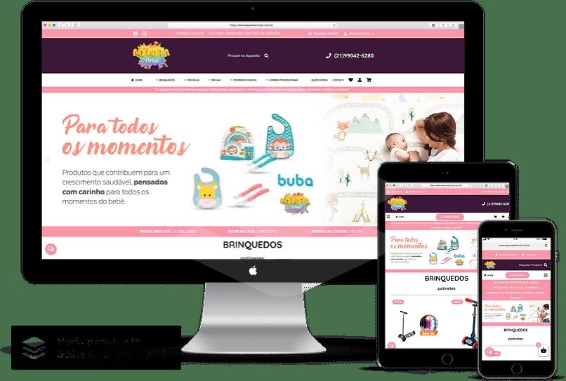 criacao de sites para empresas de loja de brinquedos