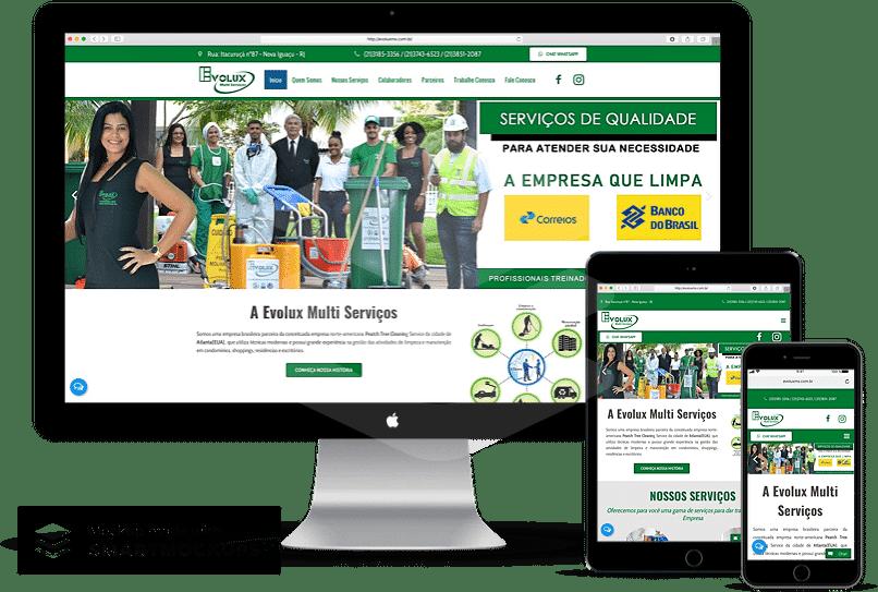 criação de sites para limpeza e conservação
