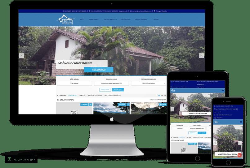 criação de sites para imobiliária e corretor de imoveis