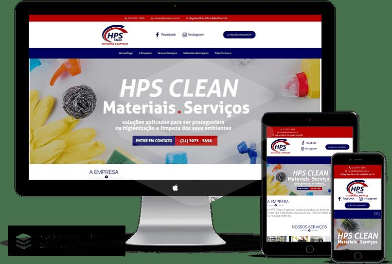 criacao de sites para materiais de limpeza